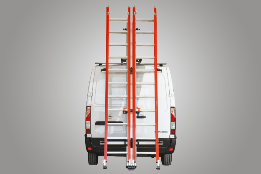 G2000 Maxi Ladder Rack fits any ladders!